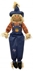 60″ Sitting Scarecrow