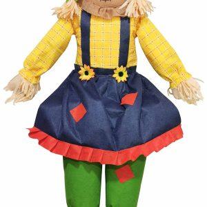 60″ Female Sitting Scarecrow