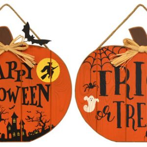 13″ Halloween Pumpkin Wall Hanger