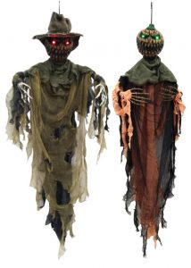 47″ Pumpkin Ghouls w/ Light