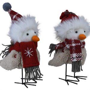 Plush Holiday Birds