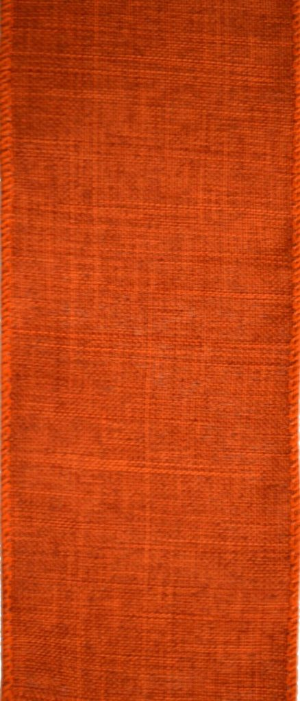 Wired Fall Orange Burlap