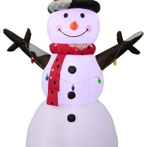 8 FT Inflatable Snowman