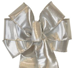 7 Loop #40 Wired Festive Silver 16″ Tails