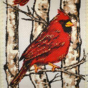 Wired Red Cardinal Birch #40