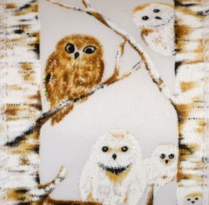 Wired White Hoot Owl White #40
