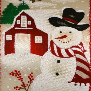 Wired Snowman School House #40