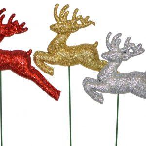 Glitter Deer Pick 4″ x 3″