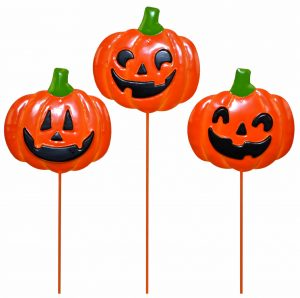 14″ Metal Pumpkin Picks