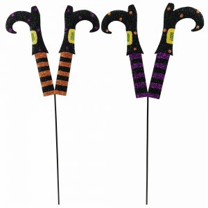 24″ Metal Witch Leg Stakes