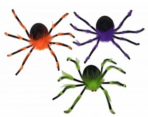 19″ Colorful Spiders