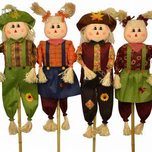 55″ Scarecrow Assortment