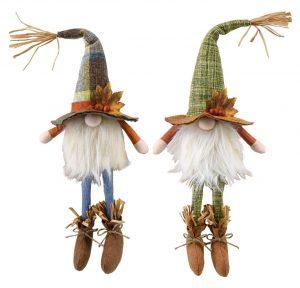 18″ Sitting Harvest Gnome