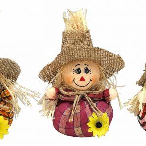 6.5″ Mini Scarecrows