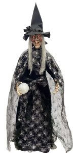 74″ Standing Witch