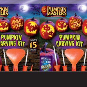 Pumpkin Masters Carving Kit Counter Display