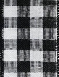Wired Black White Check