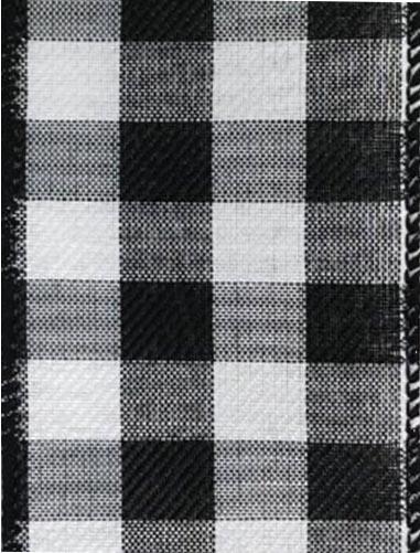 Wired Black White Check