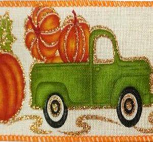 Wired Pumpkin Truck