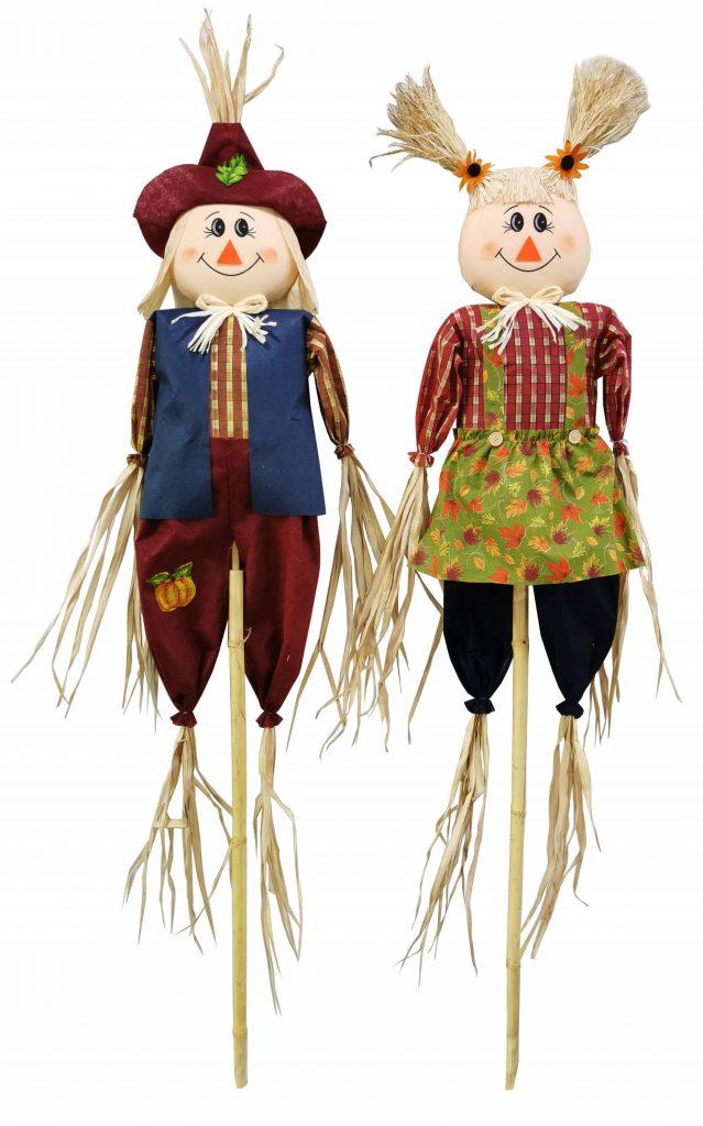 60″ Scarecrow Couple