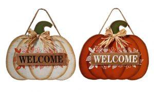 14″ Wood Pumpkin Hanger