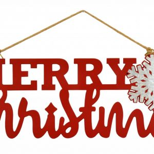 20″ Merry Christmas Wall Hanger