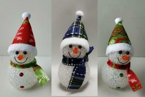 6″ LED Snowman