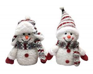 8″ LED Snowmen