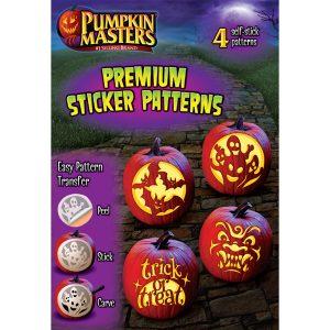 Pumpkin Masters Premium Sticker Patterns